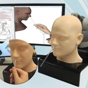 A Virtual Reality Based Simulator for Nasogastric Tube Placement Training